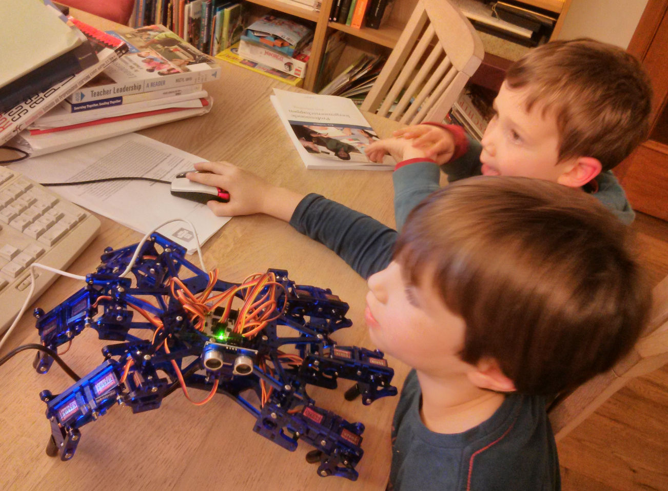 Hexapod, my kids like it as well
